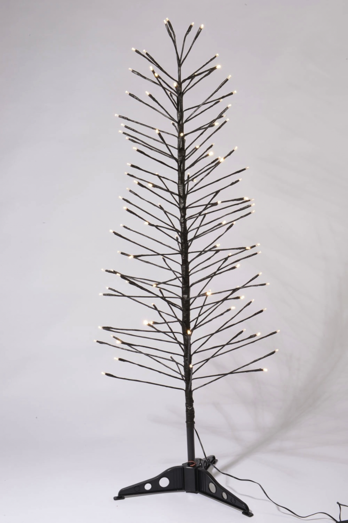 Kaemingk LED Switch Light Tree - 1.2m Warm White/Multi