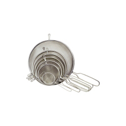 Chef Aid Metal Tinned Strainer - 15cm Diameter