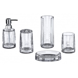 Showerdrape Clear Acrylic Liquid Soap Dispenser