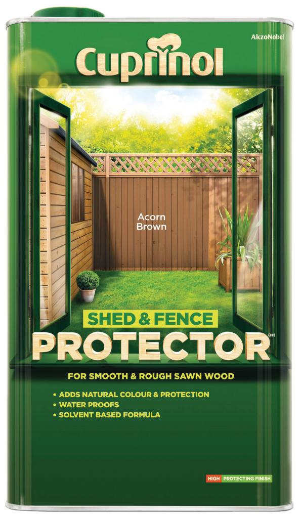 Cuprinol Shed & Fence Protector 5L - Golden Brown