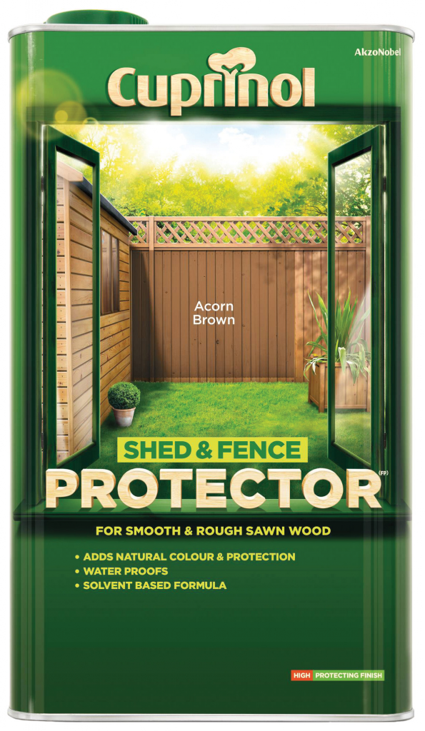 Cuprinol Shed & Fence Protector 5L - Rustic Green