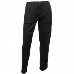 Regatta Gents Black Action Trousers - 46T