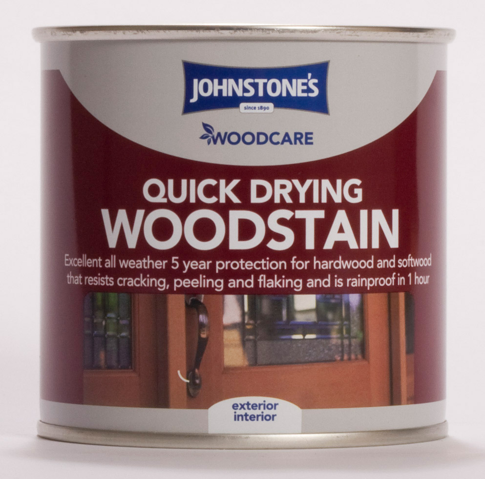 Johnstone's Woodcare Quick Drying Woodstain 250ml - Antique Pine