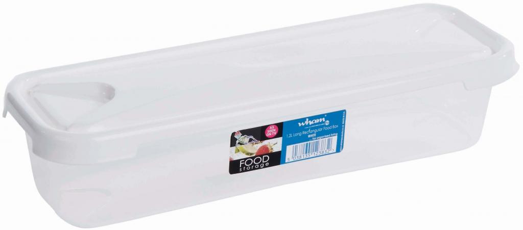 Wham Bacon Food Storage Box White - 1.2L