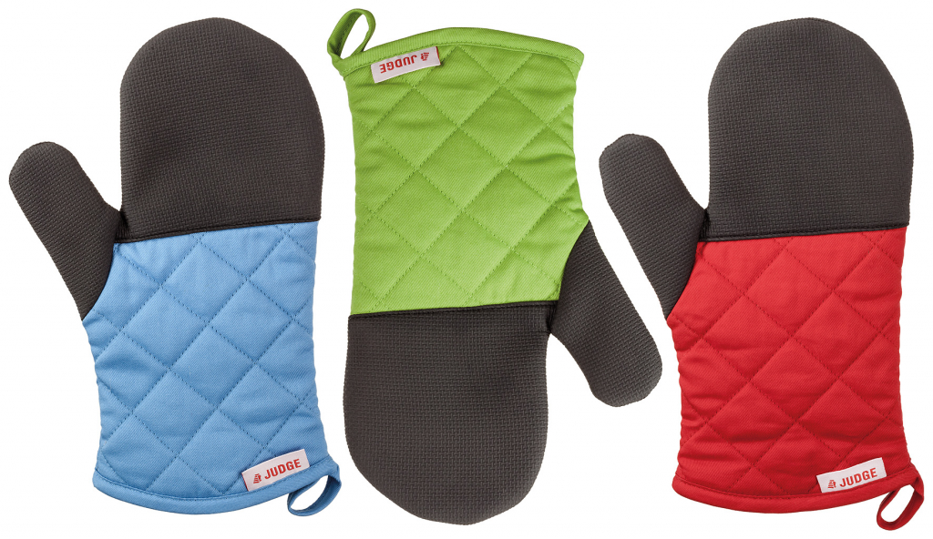 Judge Traditional Oven Mitt - Assorted Colours