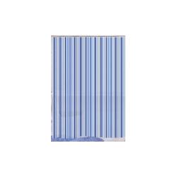 Blue Canyon Peva Shower Curtain 180 x 180cm - Blue Stripe
