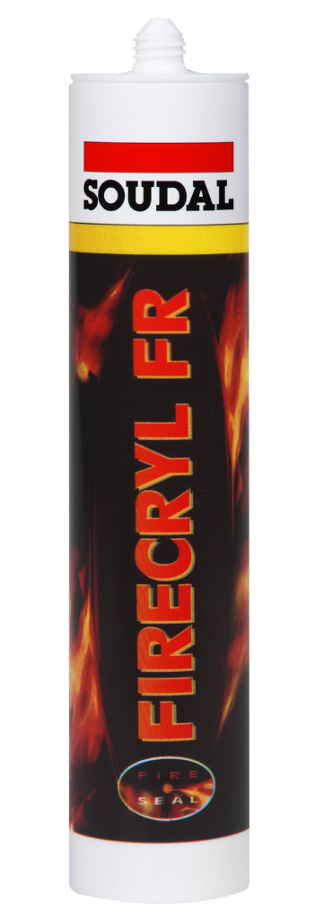 Soudal Firecryl - 310ml Cartridge White
