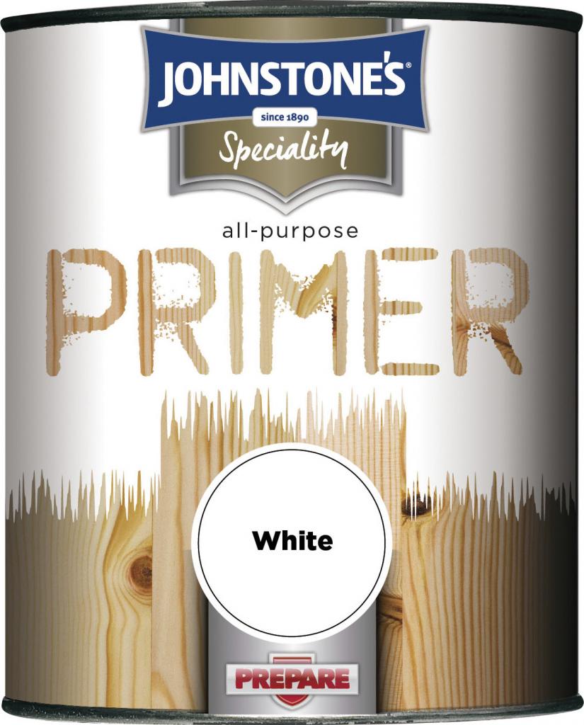 Johnstone's All Purpose Primer - 750ml White