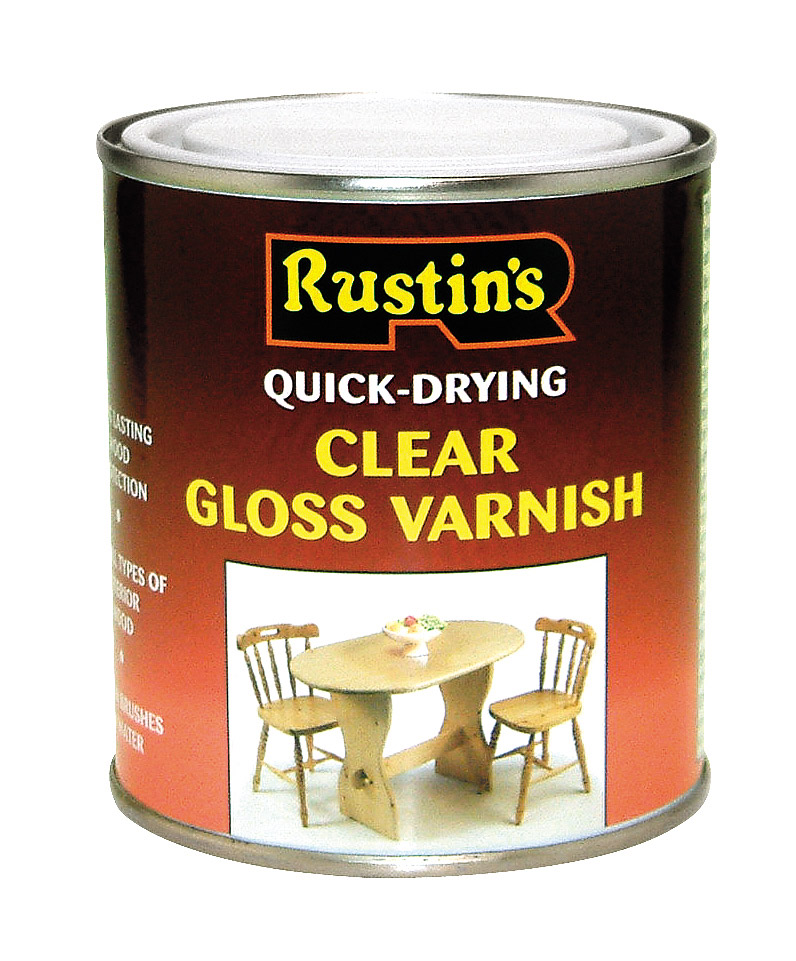 Rustins Acrylic Varnish 1L - Clear Gloss