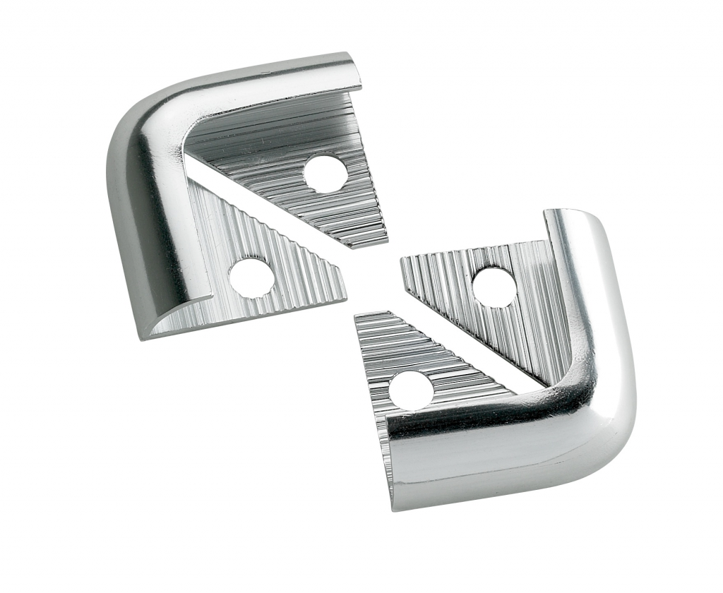 Tile Rite Silver Metal Corners - 10mm 2 Pack