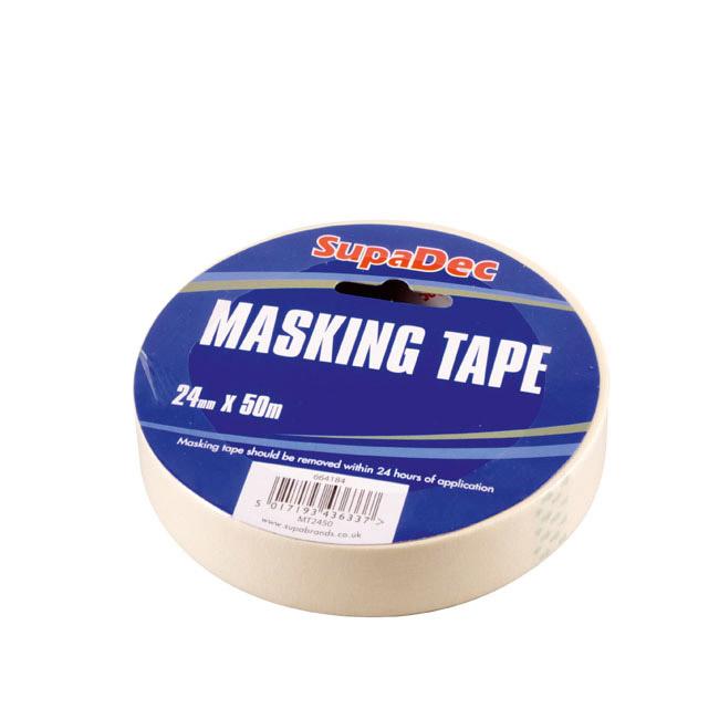 SupaDec Masking Tape - 18mm x 50m