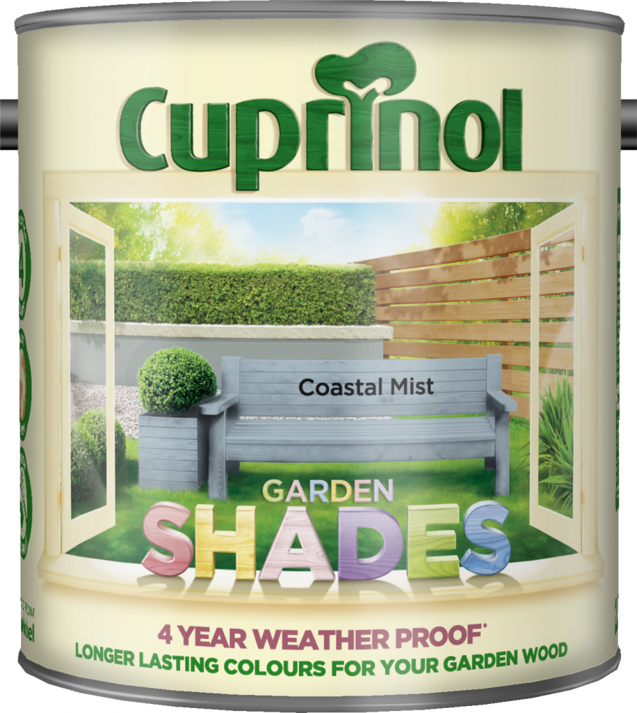 Cuprinol Garden Shades 2.5L - Coastal Mist