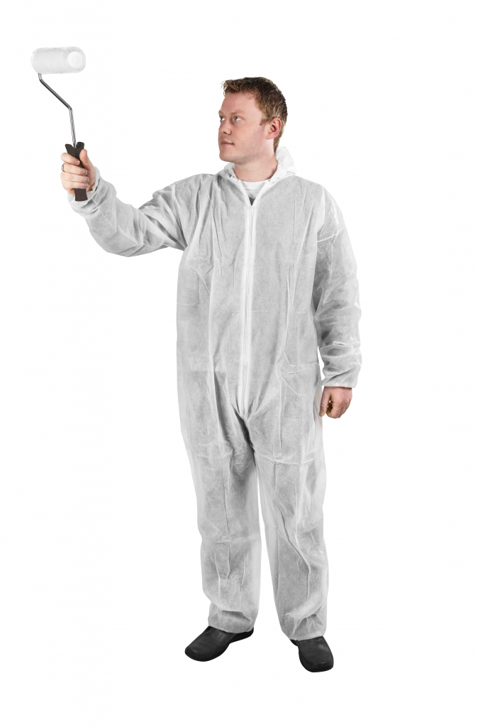 Glenwear Protective Coveralls - Large 186mm