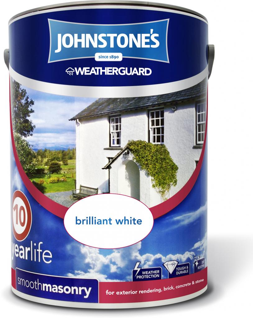 Johnstone 39 s weatherguard smooth masonry 5l stax trade - Johnstones exterior masonry paint ...
