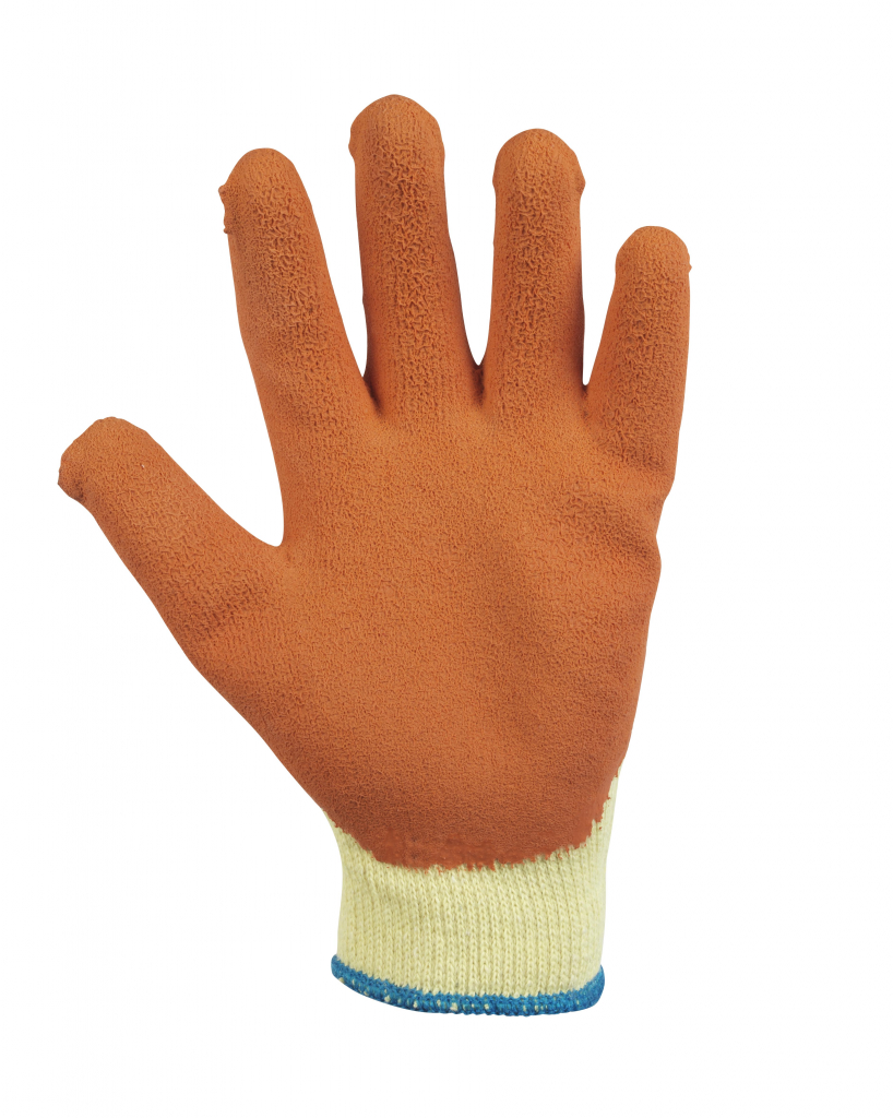 Glenwear Latex Grip Glove - 9 - Large