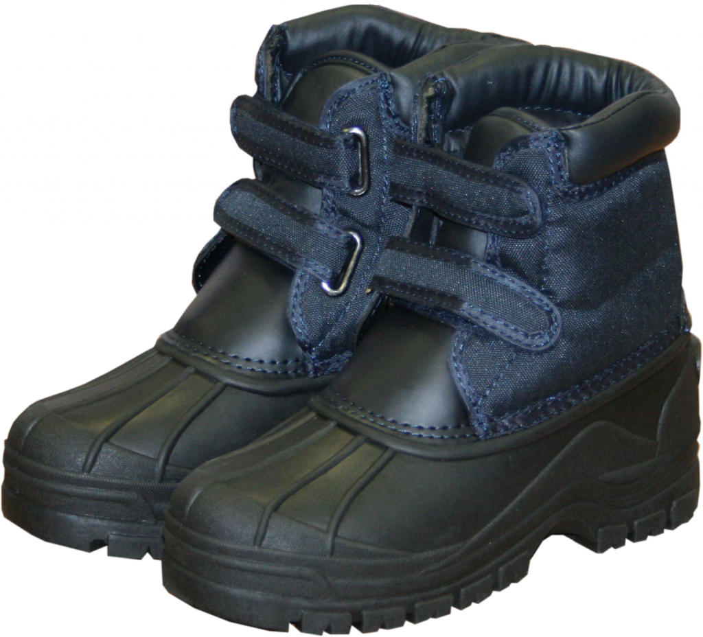 Charnwood Navy Boots - Size 4