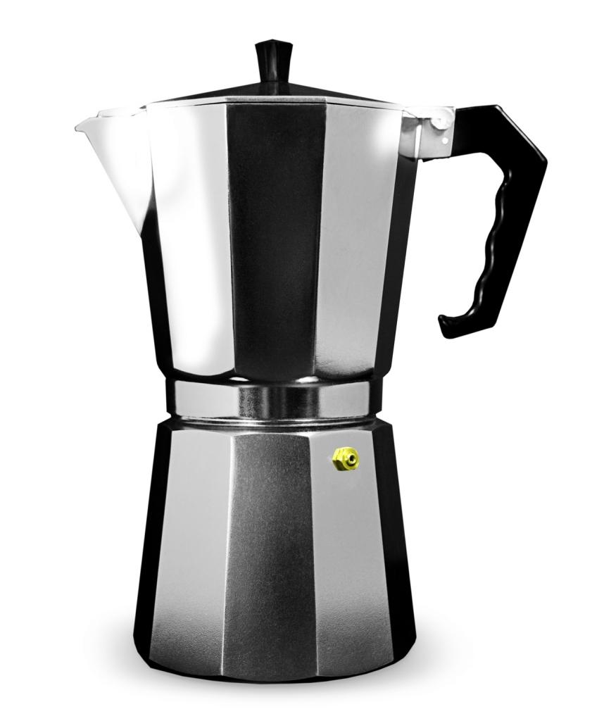 Grunwerg Aluminium Espresso Maker Gift Boxed - 9 Cup