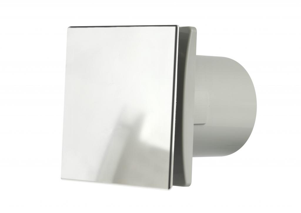 Manrose Tile Fan Adjustable Timer - Chrome