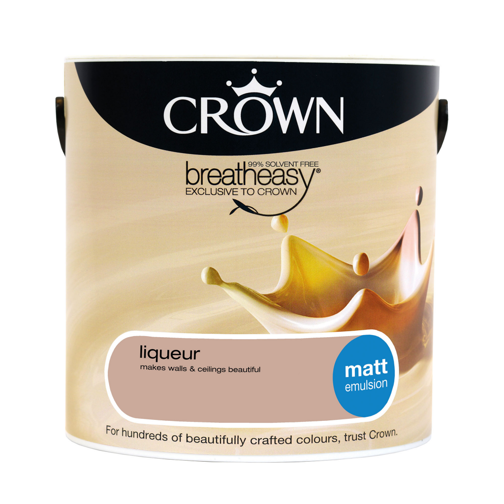 Crown Matt Emulsion 2.5L - Liqueur