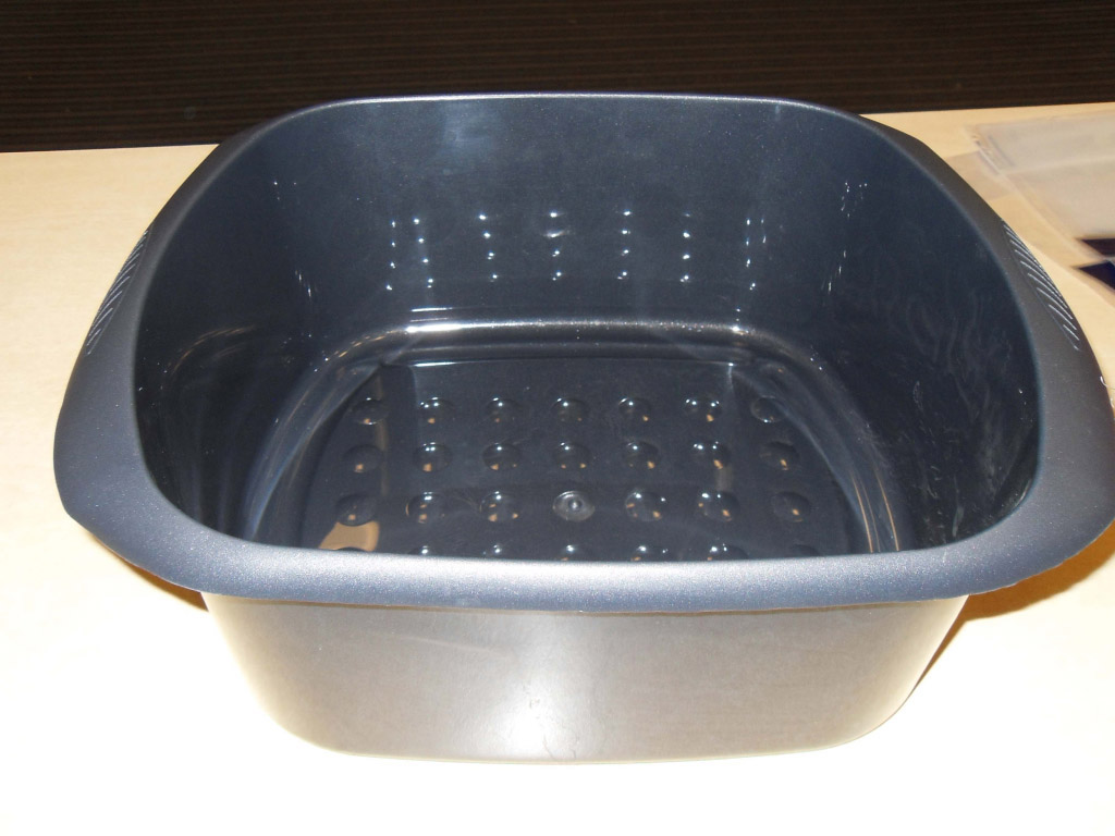 TML Rectangular Bowl - 11L Graphite