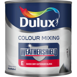 Dulux Weathershield Quick Drying Exterior Gloss 1L