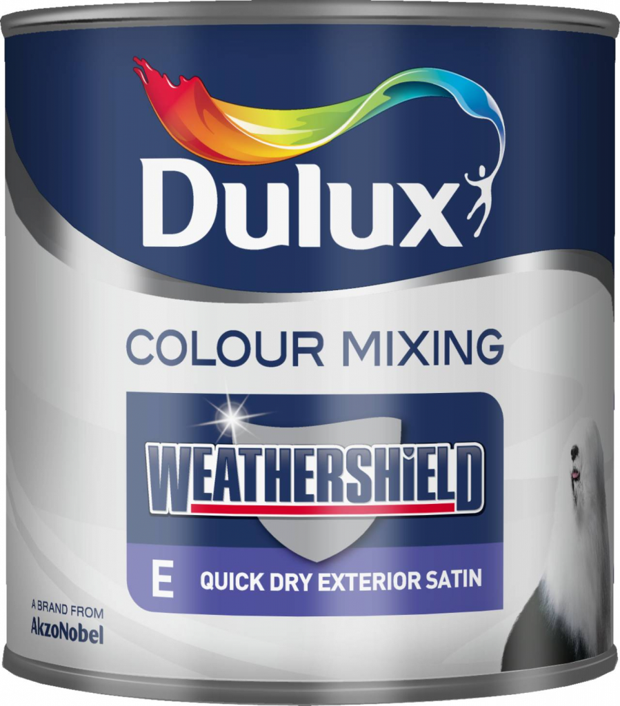 Dulux weathershield quick dry satin 1l stax trade centres - Weathershield exterior paint system ...