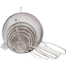 Chef Aid Metal Tinned Strainer - 20.5cm dia