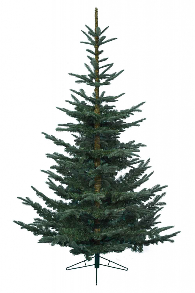 Kaemingk Natural Cut Fir Tree - 210cm Green