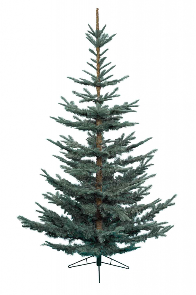 Kaemingk Natural Cut Fir Tree - 210cm Blue