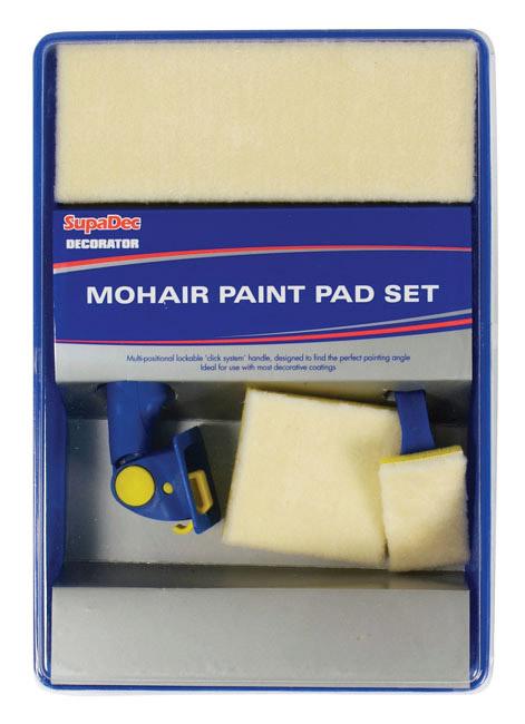 SupaDec Decorator Mohair Paint Pad Refill - 5 Piece