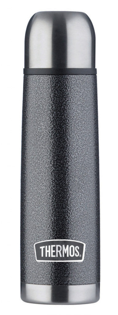 Thermos Hammertone Stainless Steel Flask - 1.0L