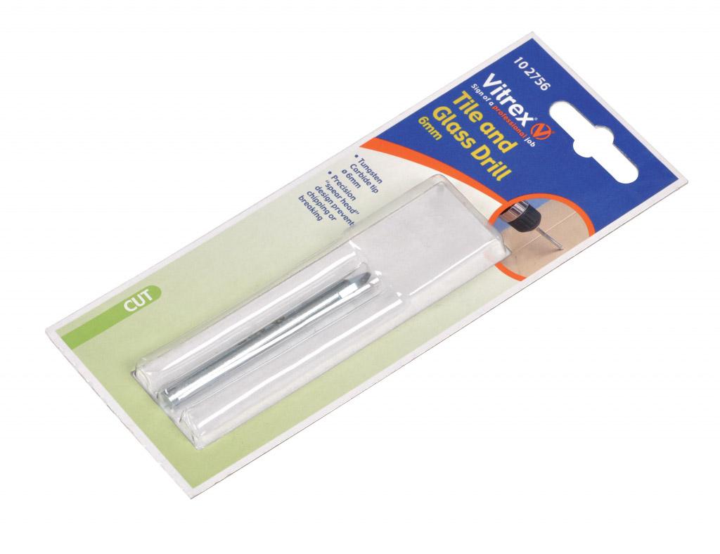Vitrex Tile Glass Drill 6mm