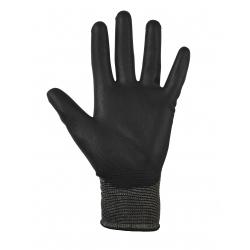 Glenwear Black PU Gloves
