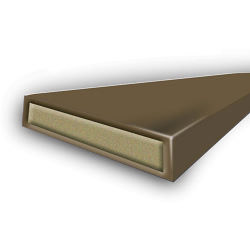 Astroflame Intumescent Seal Fire Only - Brown 15 x 4 x 2100mm