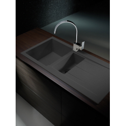 1 1 2 bowl kitchen sink black kitchen appliances tips and review pyramis alazia 1 1 2 bowl composite sink workwithnaturefo