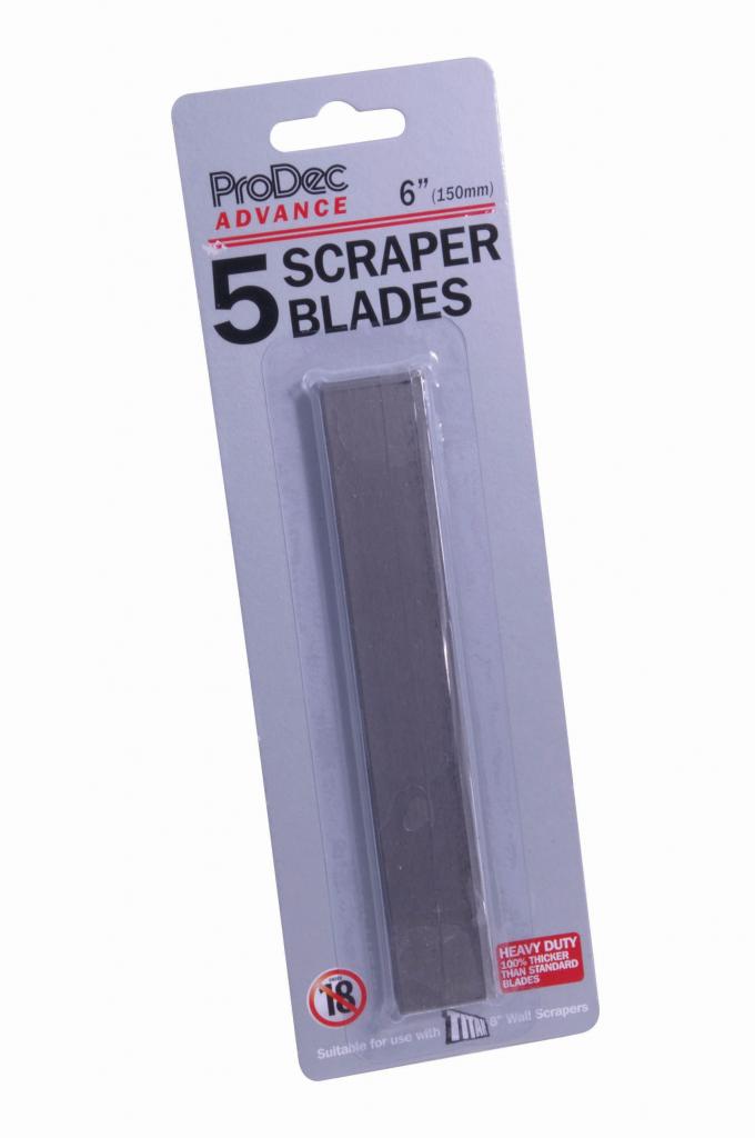 "ProDec Advance Blades For 6"" Scraper - 6"""