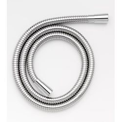 Croydex Large Bore Shower Hose 2m - Stainless Steel