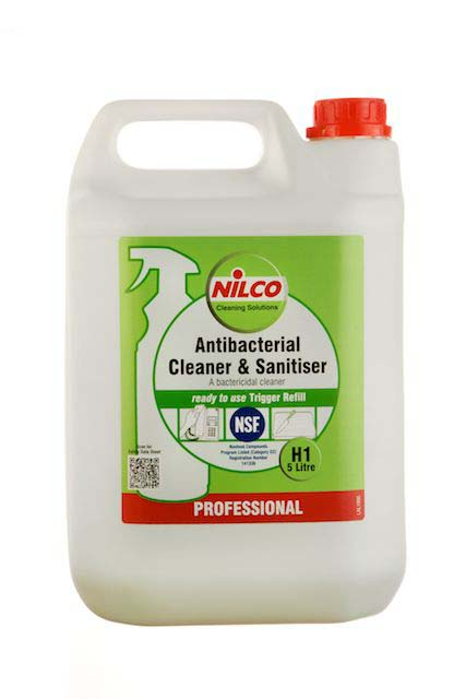 Nilco Antibacterial Cleaner and Sanitiser - 5L