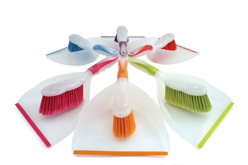 Bentley Brights Dustpan & Brush - Assorted Colours