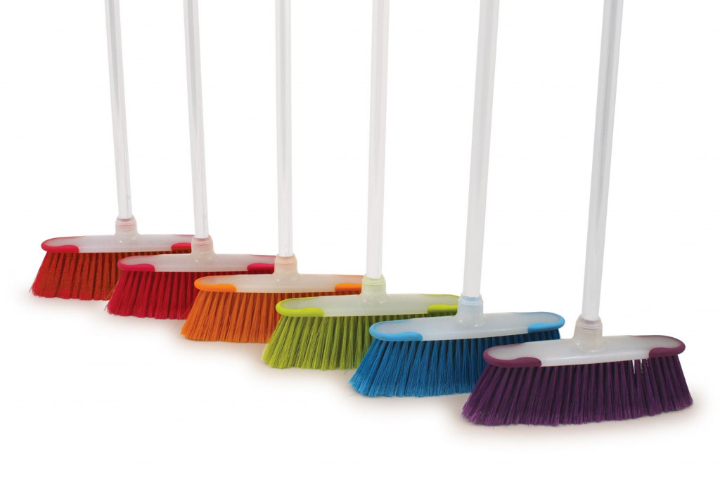 Bentley Brights Kitchen Brush With Handle - Assorted Colours