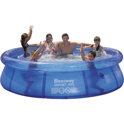 Bestway 8' Clear Fast Set Pool