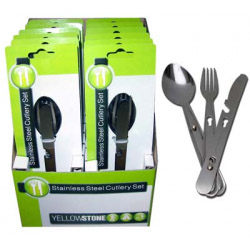 Yellowstone Stainless Steel Cutlery Set - 3 Piece
