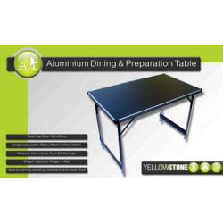 Yellowstone Folding Camping Table - 100 x 60cm