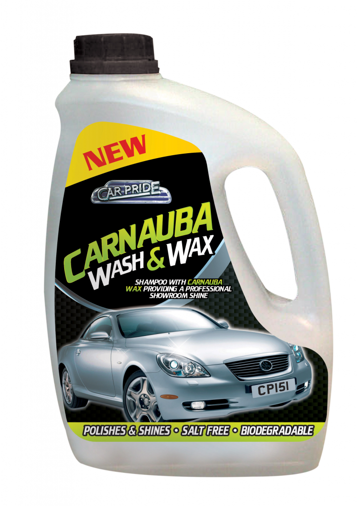 Car Pride Carnauba Wash & Wax - 2L