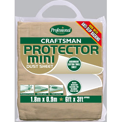 Rodo Craftsman Protector Dust Sheet - Size 1.8 x 0.9m (6' x 3')