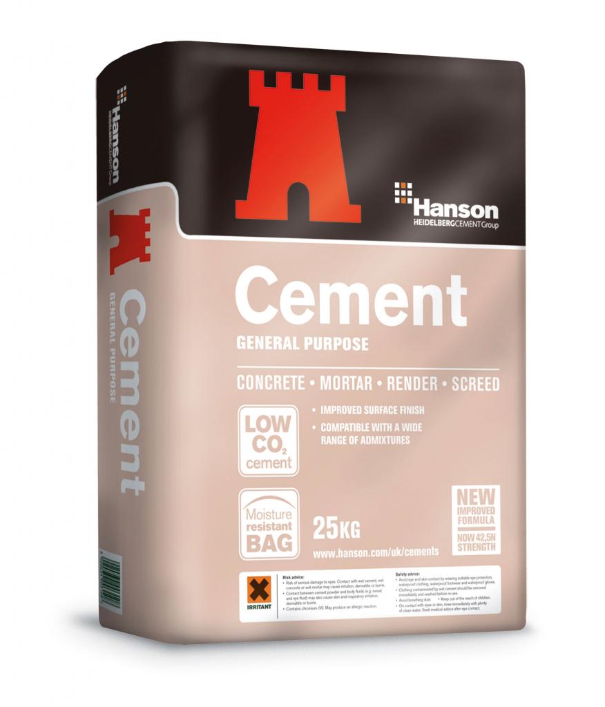 Hanson Portland Cement - 25Kg