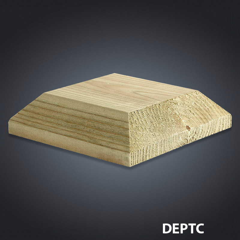 Cheshire Mouldings Decking Patrice Cap - 110mm