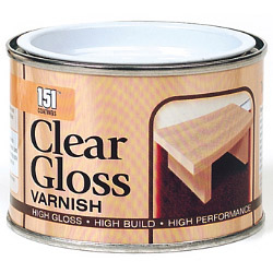 151 Coatings Varnish - 180ml Clear Gloss