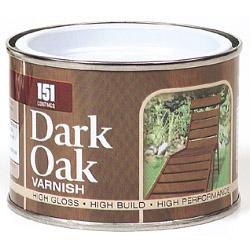 151 Coatings Varnish - 180ml Dark Oak