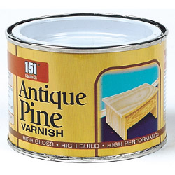 151 Coatings Varnish - 180ml Antique Pine
